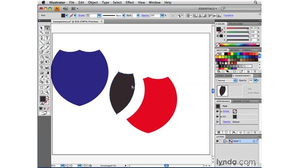 Exercising the two rules of transparency flattening: Illustrator CS4 Beyond the Basics