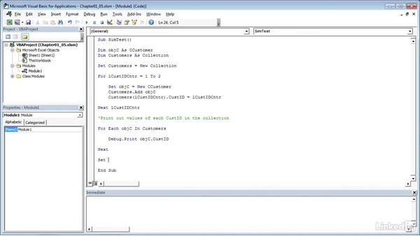 Deleting objects to free up memory: Process Modeling in Excel Using VBA