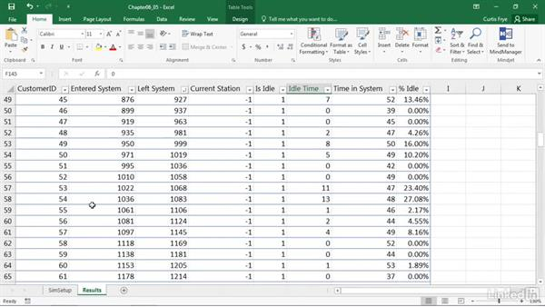 Sorting and filtering Excel table values: Process Modeling in Excel Using VBA