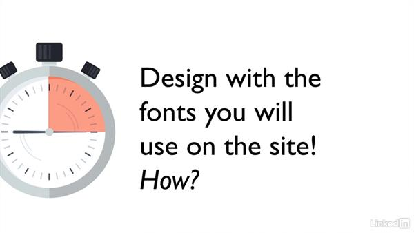 Fonts: Designing Websites for Performance
