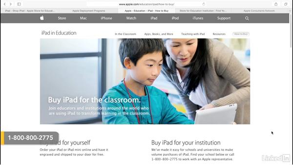 Purchase Apple equipment for DEP: Mobile Device Management with Meraki: Managing iPads