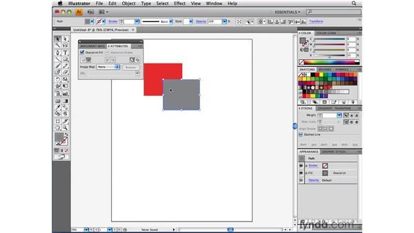 Using Overprints and Overprint Preview: Illustrator CS4 Beyond the Basics
