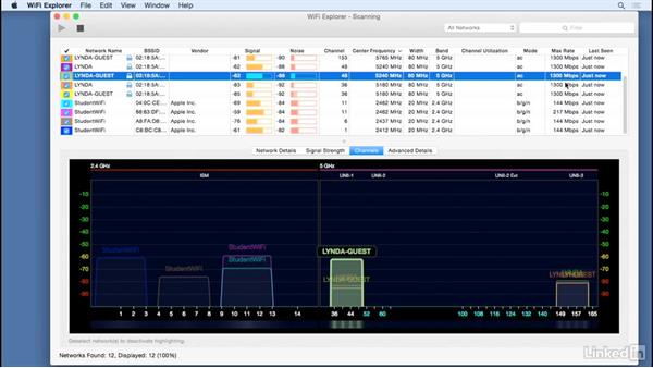 Use Wi-Fi analysis tools: Mobile Device Management with Meraki: Managing iPads