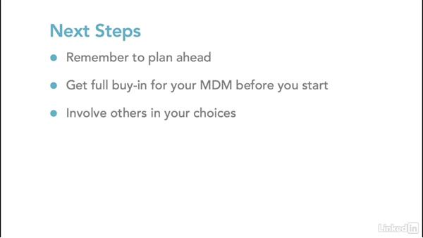 Next steps: Mobile Device Management with Meraki: Managing iPads