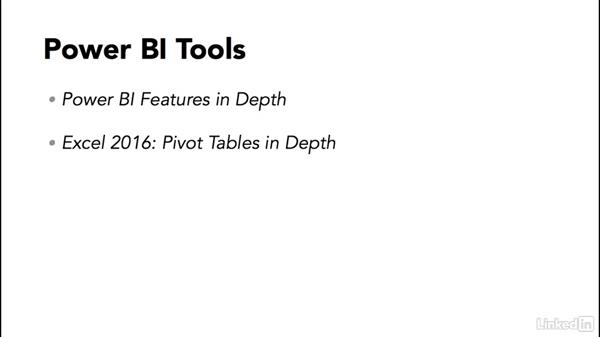 Next steps: Learn Microsoft Power BI Desktop: The Basics