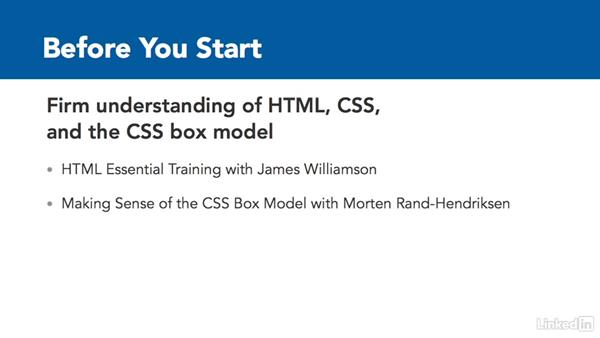 What to know before you start this course: CSS Grid: First Look