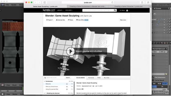 Next steps: Blender: Game Asset Textures