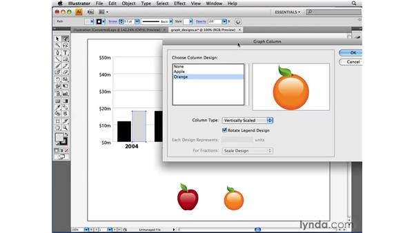 Creating graph designs: Illustrator CS4 Beyond the Basics