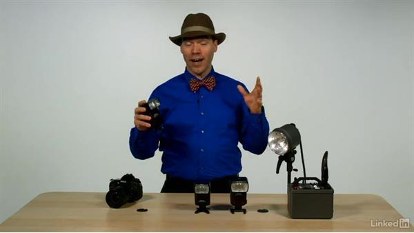 Comparing speedlights to strobes: Nikon Speedlight Flash Fundamentals