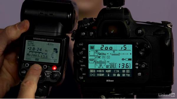 How to quickly adjust speedlight settings on the back of the flash: Nikon Speedlight Flash Fundamentals