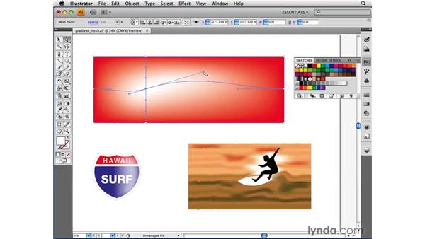 Understanding the Gradient Mesh feature: Illustrator CS4 Beyond the Basics
