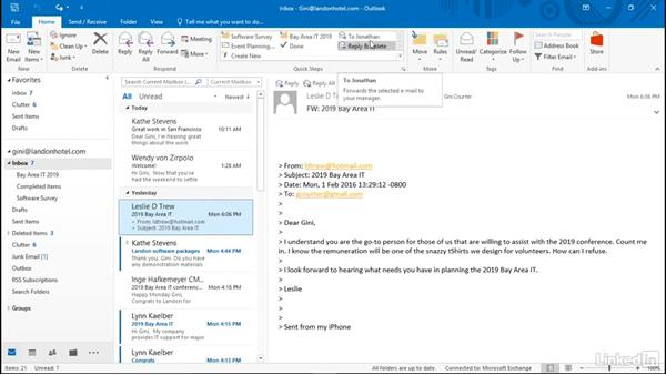 Create a custom Quick Step: Efficient Email Management with Outlook 2016