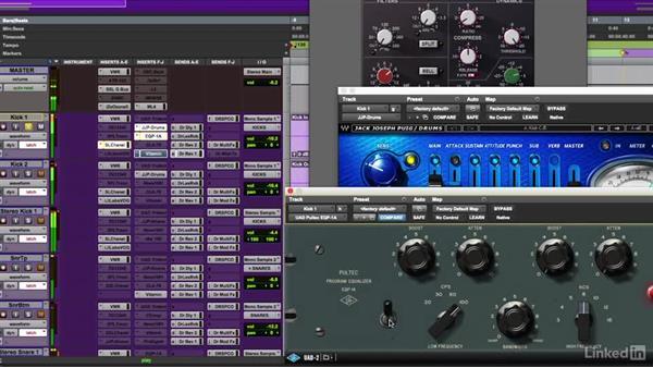 Kick drum processing techniques: Mixing Techniques for Pop Music, Part 1