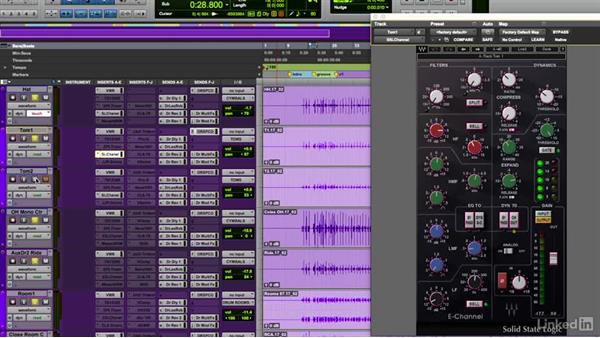 Tom toms and cymbals processing: Mixing Techniques for Pop Music, Part 1