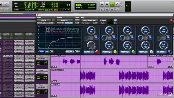 Gain processing using EQ and dynamics: Mixing Techniques for Pop Music, Part 1