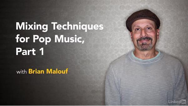 Next steps: Mixing Techniques for Pop Music, Part 1