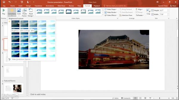 Adding video: Office 365: Learn PowerPoint
