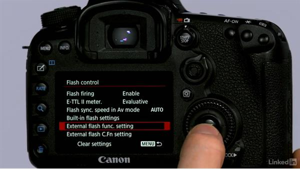 How to control your Speedlite on your camera's LCD: Canon Speedlite Flash Fundamentals