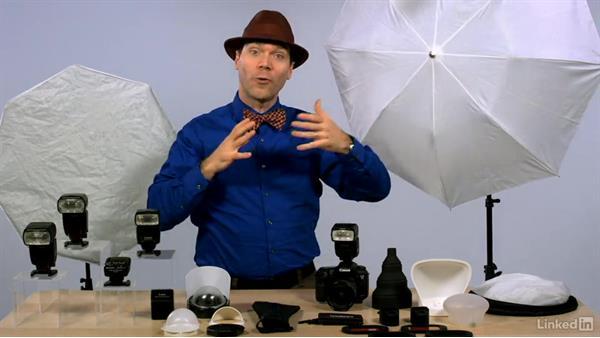 Creating soft light: Canon Speedlite Flash Fundamentals