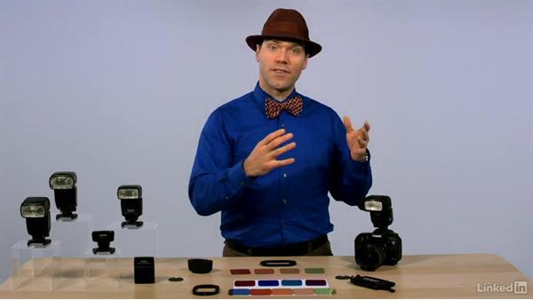 Controlling the color of light: Canon Speedlite Flash Fundamentals