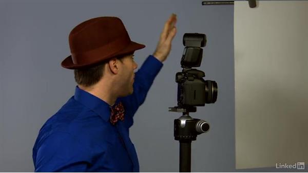 Demonstration: Speedlite on the camera: Canon Speedlite Flash Fundamentals