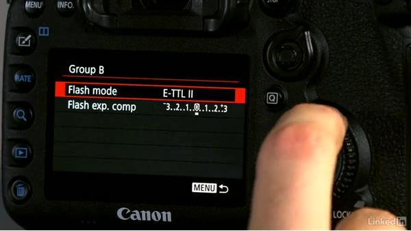 Off-camera flash demo: Canon Speedlite Flash Fundamentals