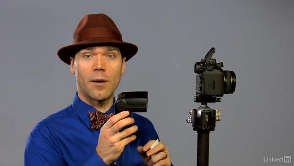Cheating the line of sight on your flash: Canon Speedlite Flash Fundamentals