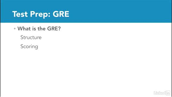 Welcome: Test Prep: GRE