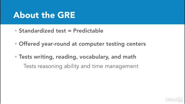 Structure of the GRE: Test Prep: GRE
