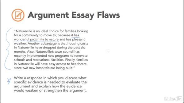 argument essay flaws
