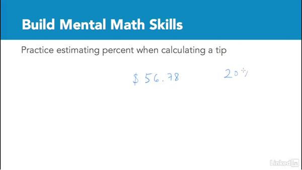 Build mental math skills: Test Prep: GRE