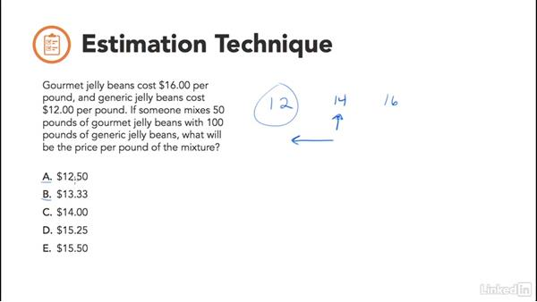Estimation technique: Test Prep: GRE