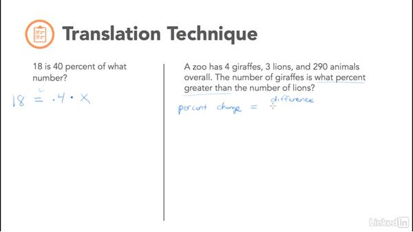 Translation technique: Test Prep: GRE