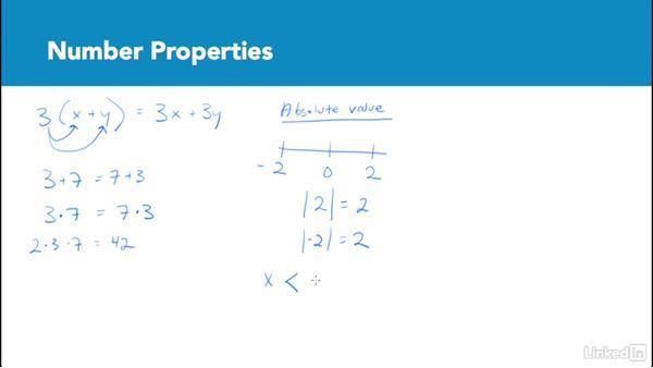 Number properties: Test Prep: GRE