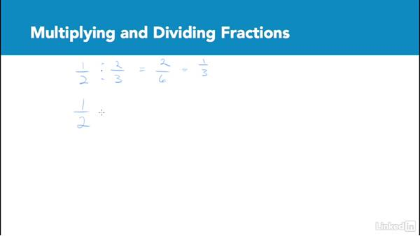 Multiplying and dividing fractions: Test Prep: GRE
