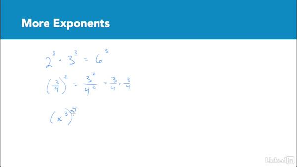 More exponents: Test Prep: GRE