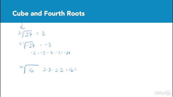 Cube and fourth roots: Test Prep: GRE