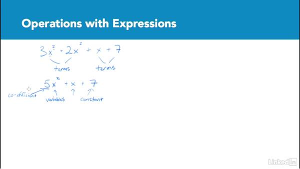Operations with expressions: Test Prep: GRE