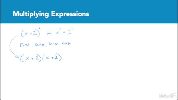 Multiplying expressions: Test Prep: GRE