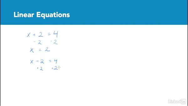 Linear equations: Test Prep: GRE
