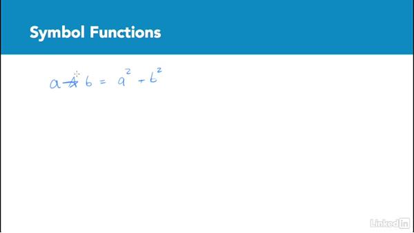 Symbol functions: Test Prep: GRE