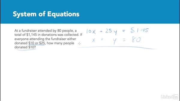 System of equations: Test Prep: GRE