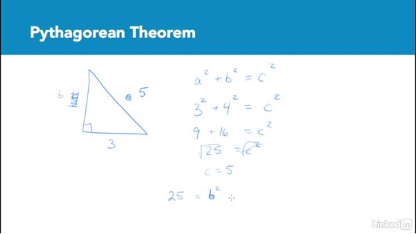 Pythagorean theorem: Test Prep: GRE