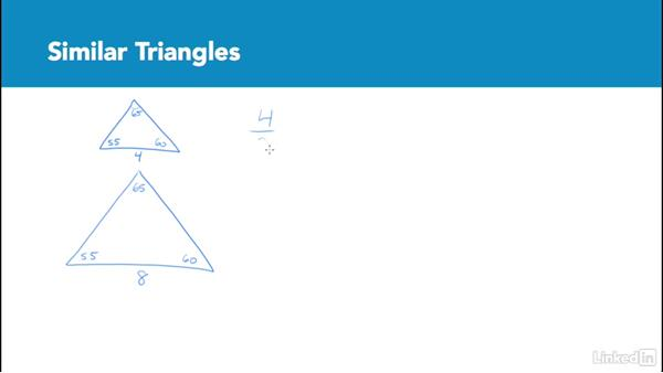 Similar triangles: Test Prep: GRE