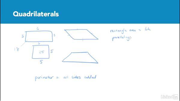 Quadrilaterals: Test Prep: GRE