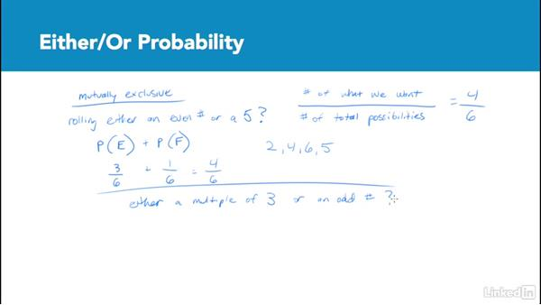 Either/or probability: Test Prep: GRE