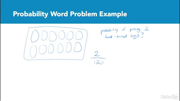 Probability word problem example: Test Prep: GRE
