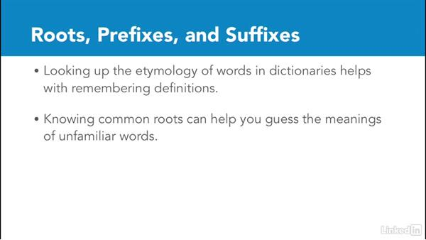 Use word roots to build vocabulary: Test Prep: GRE