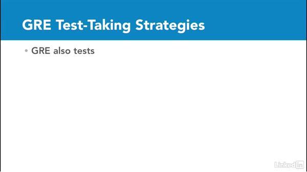 GRE test-taking strategies: Test Prep: GRE