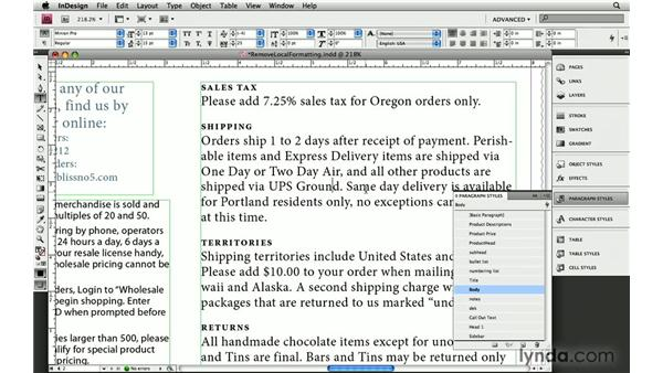 3. How to strip out unwanted text formatting: InDesign: 10 Essential Tips
